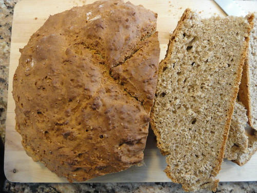 Buckwheat Brown Bread by accident