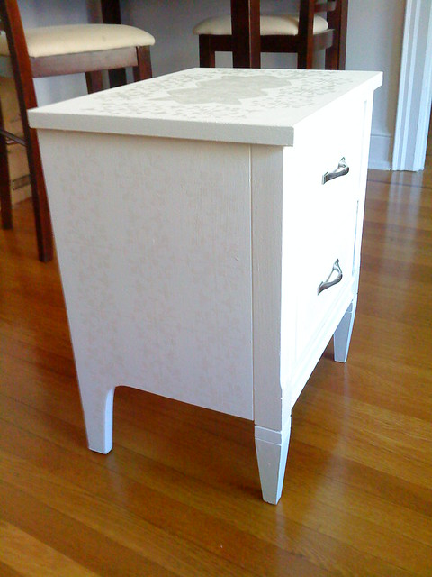 Side-table after!