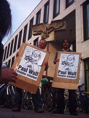 Engagement fr die Paul Wulf-Skulptur in Mnster: Axel Prahl, Bernd Drcke (flohserver) Tags: engagement skulptur axel bernd mnster projekte drcke prahl paulwulf sclupturepojekts mnster07