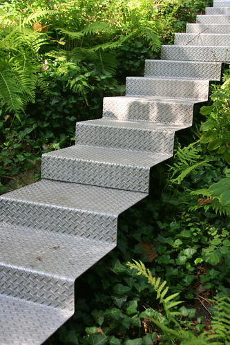 Garden on Turtle Creek floating stairs