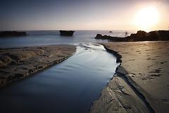 One evening at Sol beach (djsitaun) Tags: longexposure sunset bali indonesia sand solbeach cnggu