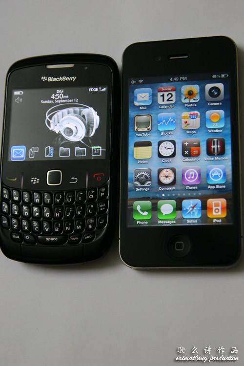 iPhone 4 vs BlackBerry