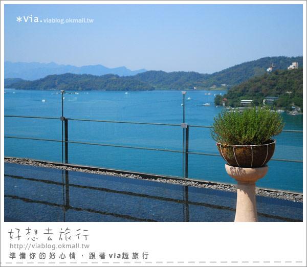 【南投】欣賞日月潭最美角度的餐廳~雲品酒店雲月舫22