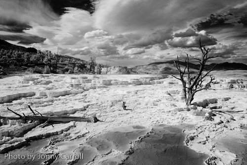 IR of yellowstone