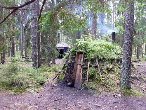 Mud cabin