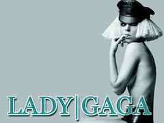 "Wallpaper Lady GaGa ""The Fame: Monster"" 2 (alelokk) Tags: wallpaper monster lady dark dance fame bad romance alejandro gaga the"