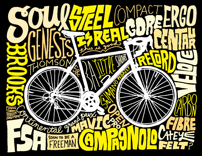 Soul Genesis Campy road bicycle art