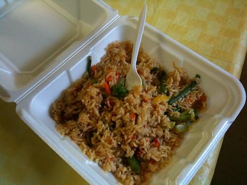 Teriyaki Rice Bowl at Z Cafe, Apopka