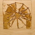 "<b>Iconic Structures</b><br/> Diane Katsiaficas (laser cut plywood, 2009)<a href=""http://farm5.static.flickr.com/4112/5018156831_0dbe3fec20_o.jpg"" title=""High res"">∝</a>"