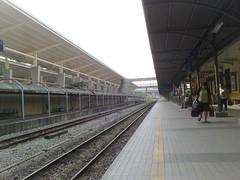 KTM Johor Bahru station platform