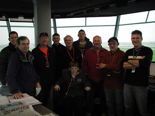 Ohakea - The tour group and kind ATC host with smiles all round