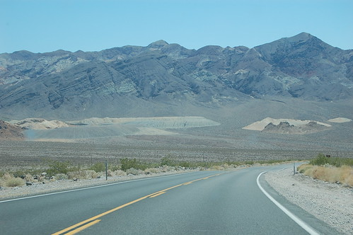 Entering Death Valley