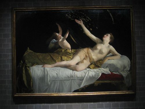 Danaë and the Shower of Gold, 1621-22, Orazio Gentileschi _7691