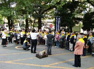 第17回東京校歌祭:練習風景