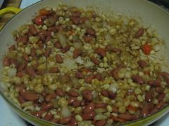 Cooking succotash