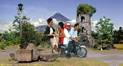 MAYON VOLCANO (Asus Nerugnayu) Tags: road travel trees wallpaper portrait sky panorama plants pet color art tourism nature beautiful beauty grass animal animals clouds forest honda poster landscape asian photography volcano pig ruins scenery gallery view artistic landscaping farm philippines wheels transport helmet animalrights places scene resort motorbike skylab motorcycle motor geography publictransport hog mammals bicol pedicab animalplanet eruption geographic pinoy animalkingdom pedal beautifulview touristspot sevenwonders fascinating stunts domesticanimal animalshow publicutility asianbeauty backride viewingdeck habalhabal mayonvolcano asianculture worldcities philippinetransport susauyanguren