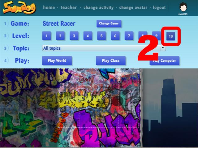 Sumdog數學遊戲網站─步驟二