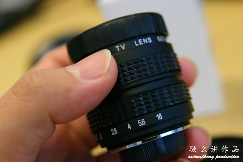 Sony Nex-3 and Nex-5 35mm F/1.7 Prime Lens