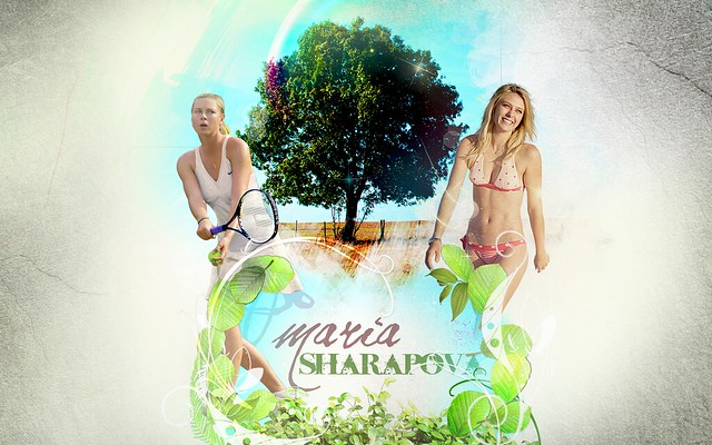 Maria Sharapova Wallpaper by BradBury!