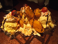 Andy Nguyen's - fried banana sundae