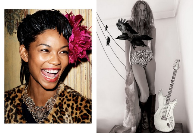 Chanel Iman by Terry Richardson f