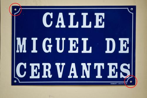 Calle Miguel de Cervantes, sin