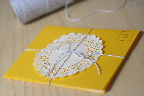 notecard set.