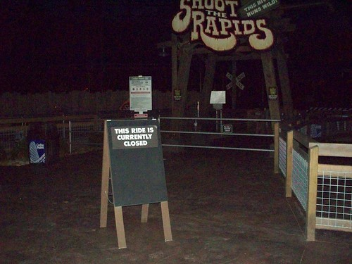 Cedar Point - Shoot the Rapids Closed