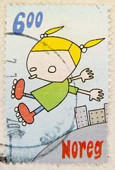 beautiful stamp Noreg 6.00 Kr. Norge Norwegen Norway timbre briefmarke (stampolina) Tags: verde green norway postes norge stamps skandinavien norwegen vert norwegian porto noruega grn postage franco norvegia norvege revenue philately vis selo marka sello noorwegen noreg filatelia norvge  briefmarken scandenavia  frimr