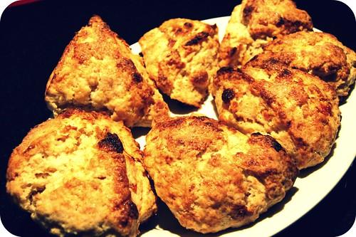 plate of scones