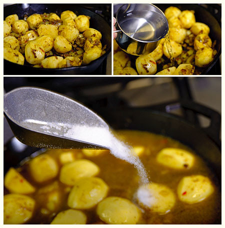 Curry Masala Potatoes