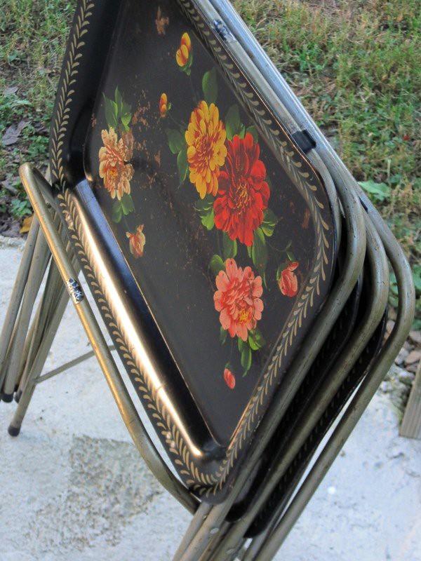 Vintage Tray Set