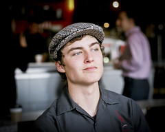 Barista (J.T.R.) Tags: portrait toronto barista leicam6 50mmsummicron bespressobar handsomelad wwwbespressobarcom