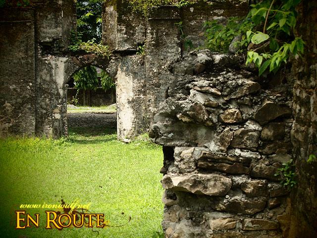 Ruins details and passageway
