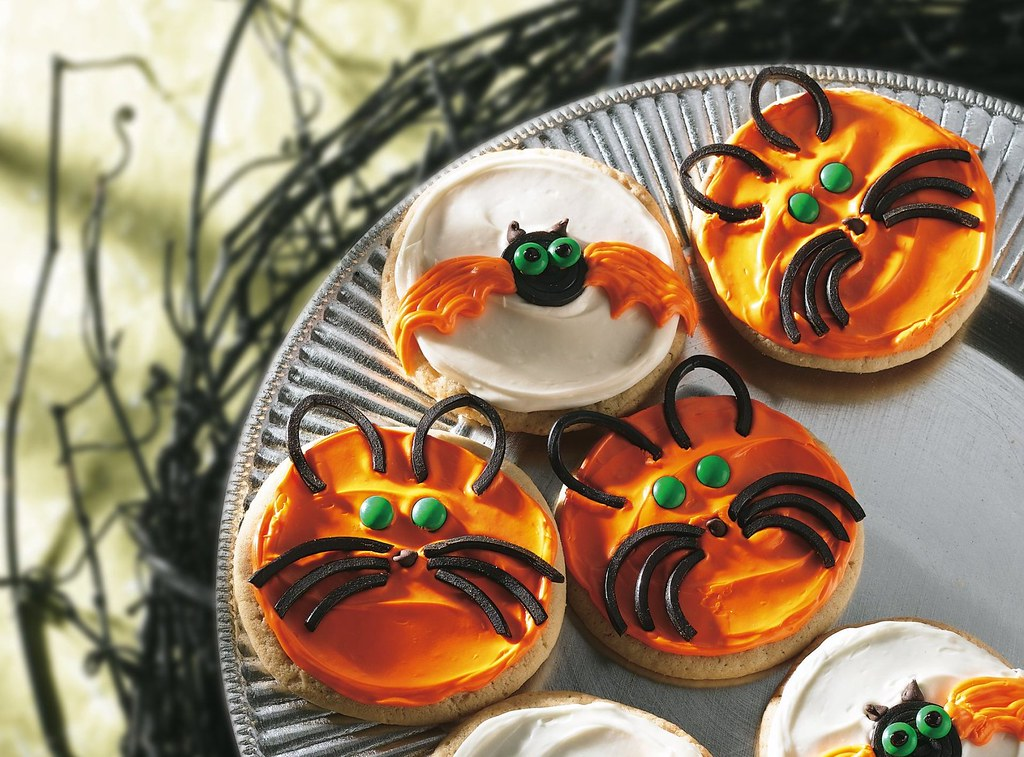 Bat and Cat Cookies Recipe
