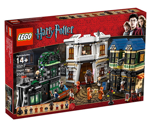 New 2011 set 10217 Diagon Alley 5042539589_3a8ef1230d