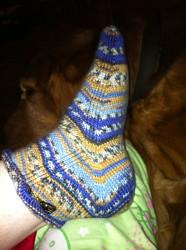 Skew foot