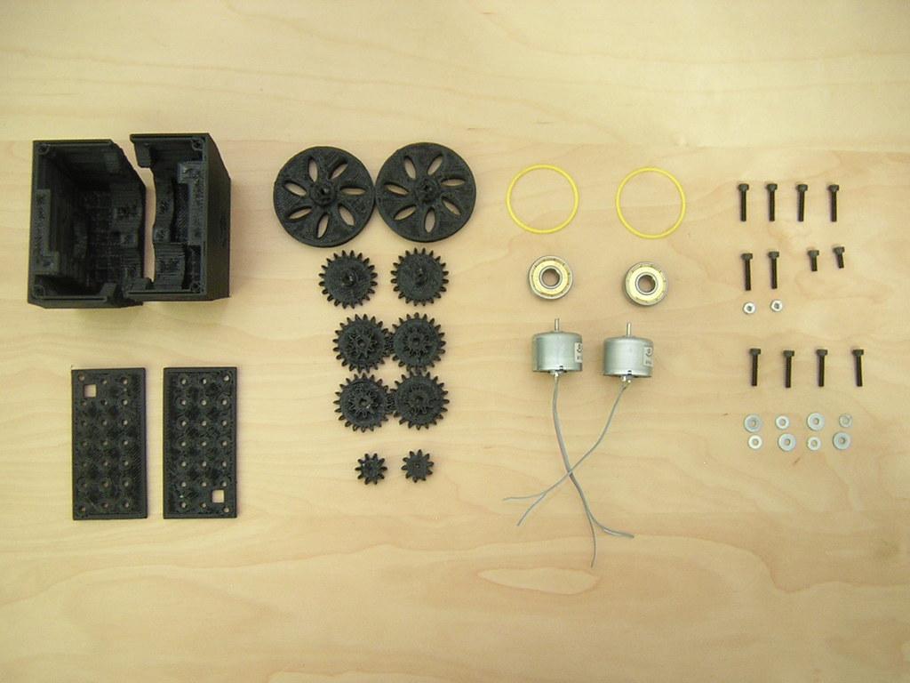Mobile Robot: Parts