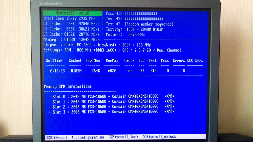 Solved] P55 SLi with Corsair CMX4GX3M2A1600C7 BSOD issue