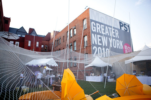 Setting at MoMA PS 1