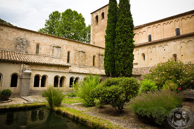 Cloister of The Gellone Monastery
