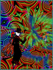 Shava Suntzu et Tuna Oddfellow (Tim Deschanel) Tags: life party music color tim concert center any sl research second jana tuna chevalier couleur gynoid deschanel medora any1 suntzu oddfellow shava kyomoon tunaverse