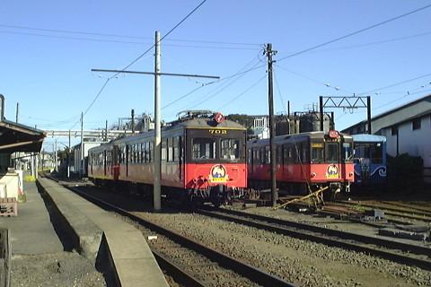 銚子電鉄デハ702(1999年2月)