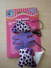 Fish Bone Cat Toy