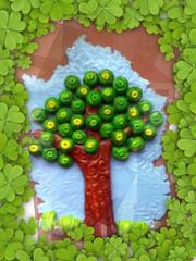 Free Polymer Clay Tree Tutorial
