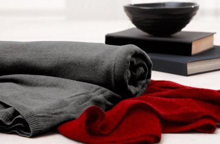 dkny cashmere blanket