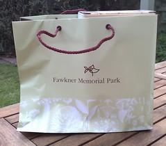 Fawkner Memorial Park bag