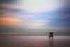 Empty chair on the beach, sunset (!.Keesssss.!) Tags: wood sea sky cloud beach nature netherlands horizontal outdoors photography chair solitude dusk scheveningen empty nopeople northsea silence remote relaxation gettyimages absence tranquilscene royaltyfree singleobject colorimage gettingawayfromitall horizonoverwater theflickrcollection keessmans 146ksgetty