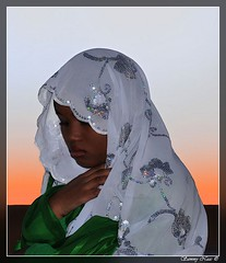 Shy Tuareq Girl (Sammy Naas) Tags: from girls girl festival female this view photos or shy everyone member arabian libya libyan ghadames libi libyen    libi libian libiya  tuareq ribia liviya ghadamis libija      lbija  lby  libja lbya liiba livi  teniri  tuwareq