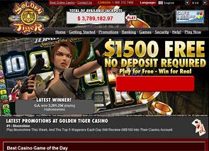 Golden Tiger Casino Home